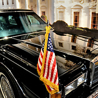 Presidential Limo at George Bush Presidential Library and Museum in College Station, Texas<br />