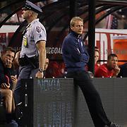 USA coach Jurgen Klinsmann during the USA V Brazil International friendly soccer match at FedEx Field, Washington DC, USA. 30th May 2012. Photo Tim Clayton
