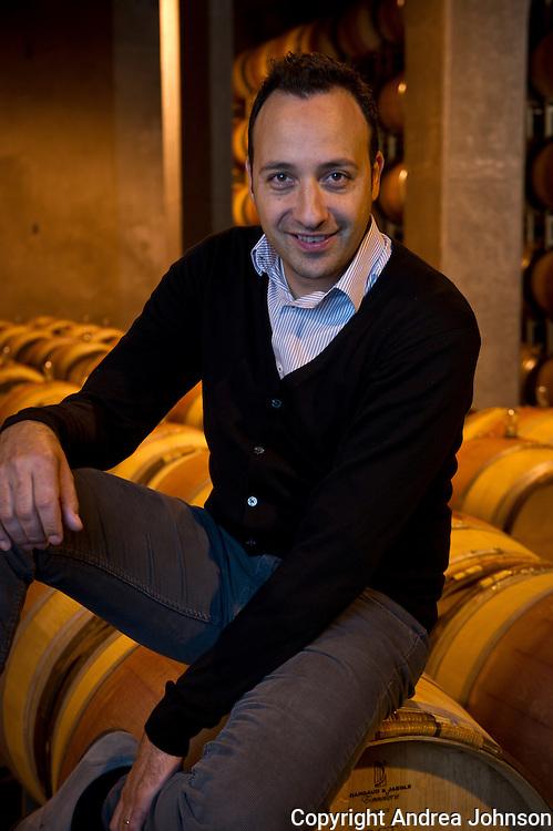 Juan Muñoz Oca, head winemaker, Columbia Crest Winery, Horse Heaven Hills, Washington