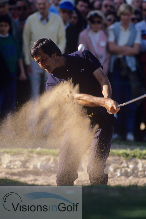 Seve Ballesteros 1988<br /> Picture Credit:  Mark Newcombe / visionsingolf.com