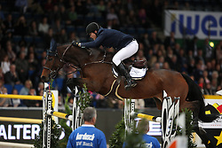 Hanley Cameron, (IRL), Z Acodate<br /> Grand Prix of Stuttgart <br /> Longines FEI World Cup<br /> Stuttgart - German Masters 2015<br /> © Hippo Foto - Stefan Lafrentz