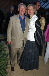 SIR TERENCE & LADY CONRAN at the Cartier Chelsea Flower Show dinat the annual Cartier Flower Show Diner held at The Physics Garden, Chelsea, London on 23rd May 2005.<br /><br />NON EXCLUSIVE - WORLD RIGHTS