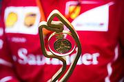 May 24-27, 2017: Monaco Grand Prix. Monaco Grand Prix trophy for Sebastian Vettel