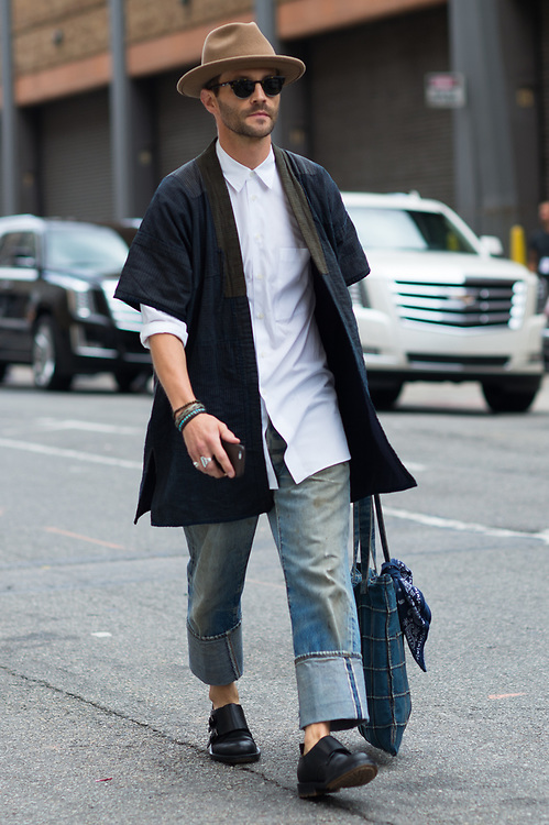 Wide-Legged Jeans, NYFWM Day 2