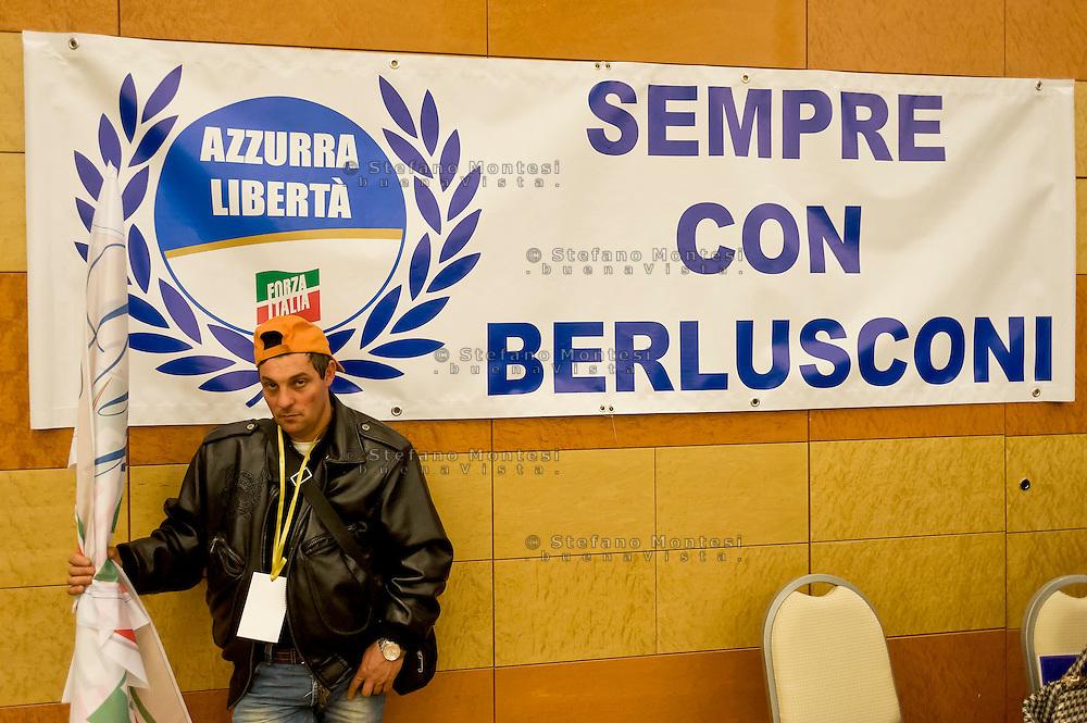 Roma, 29 Marzo 2015<br /> Convention di Forza Italia: Roma l'Italia e l'Europa che vogliamo. Attivista di Forza Italia<br /> Rome, March 29, 2015<br /> Convention  of Forza Italy: Rome the Italy and Europe that we want. Activist of Forza Italy