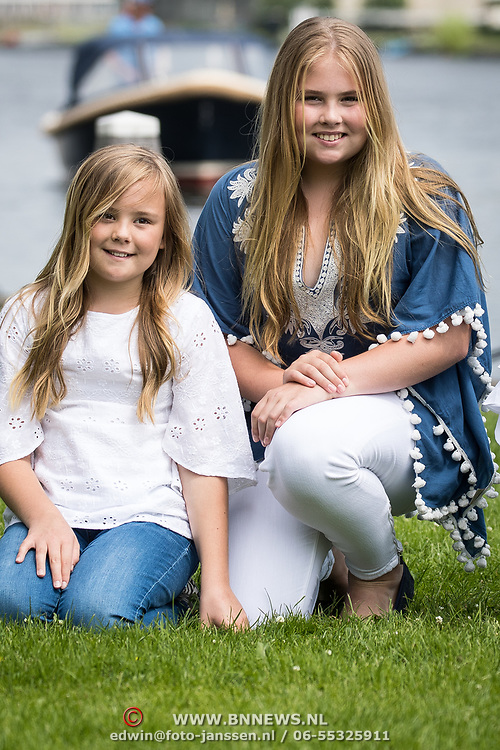 NLD/Warmond//20170707 - Koninklijke fotoshoot zomer 2017,  Prinsessen Amalia en prinses  Ariane