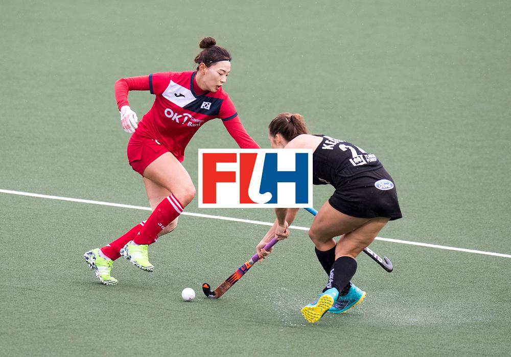 AUCKLAND - Sentinel Hockey World League final women<br /> Match id 10295<br /> 05 New Zealand  v Korea<br /> Foto: Tarryn Davey <br /> WORLDSPORTPICS COPYRIGHT FRANK UIJLENBROEK
