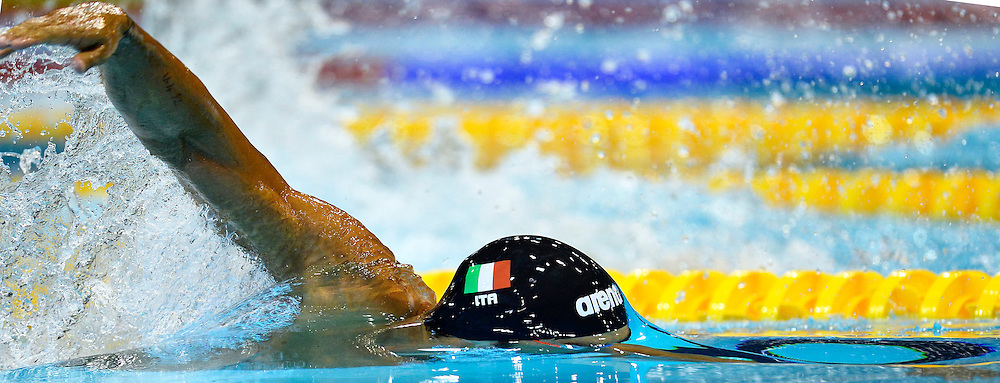 Filippo Magnini Italia 200m Freestyle Men<br /> Swimming<br /> 32nd LEN European Championships  <br /> Berlin, Germany 2014  Aug.13 th - Aug. 24 th<br /> Day07 - Aug. 19<br /> Photo Andrea Staccioli/Deepbluemedia/Insidefoto