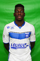 Adama Ba of Auxerre during Auxerre squad photo call for the 2016-2017 Ligue 2 season on September, 7 2016 in Auxerre, France ( Photo by Andre Ferreira / Icon Sport )