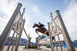 FREDRICSON Peder (SWE), H&M Christian K<br /> Tryon - FEI World Equestrian Games™ 2018<br /> FEI World Individual Jumping Championship<br /> Third cometition - Round A<br /> 3. Qualifikation Einzelentscheidung 1. Runde<br /> 23. September 2018<br /> © www.sportfotos-lafrentz.de/Stefan Lafrentz