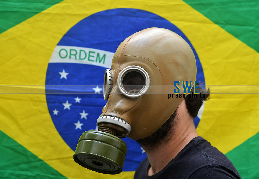 Rio de Janeiro- Brazil, March 19, 2020, Brazil taking precautions against Coronavirus (covid19)