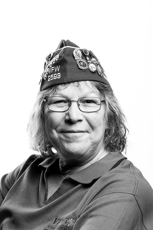 Denise Daugherty<br /> Air Force<br /> E-5<br /> Supply<br /> Feb. 13, 1975 - Apr. 24, 1984<br /> <br /> Veterans Portrait Project<br /> St. Louis, MO