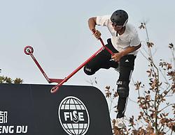 November 3, 2018 - Chengdu, Chengdu, China - Chengdu,CHINA-The FISE World Series is held in Chengdu, southwest China's Sichuan Province, November 2nd, 2018. (Credit Image: © SIPA Asia via ZUMA Wire)