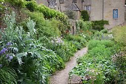 The Long Border at Snowshill Manor