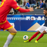 PARIS, FRANCE - September 10:   Corentin Tolisso #12 of France in action during the France V Andorra, UEFA European Championship 2020 Qualifying match at Stade de France on September 10th 2019 in Paris, France (Photo by Tim Clayton/Corbis via Getty Images)