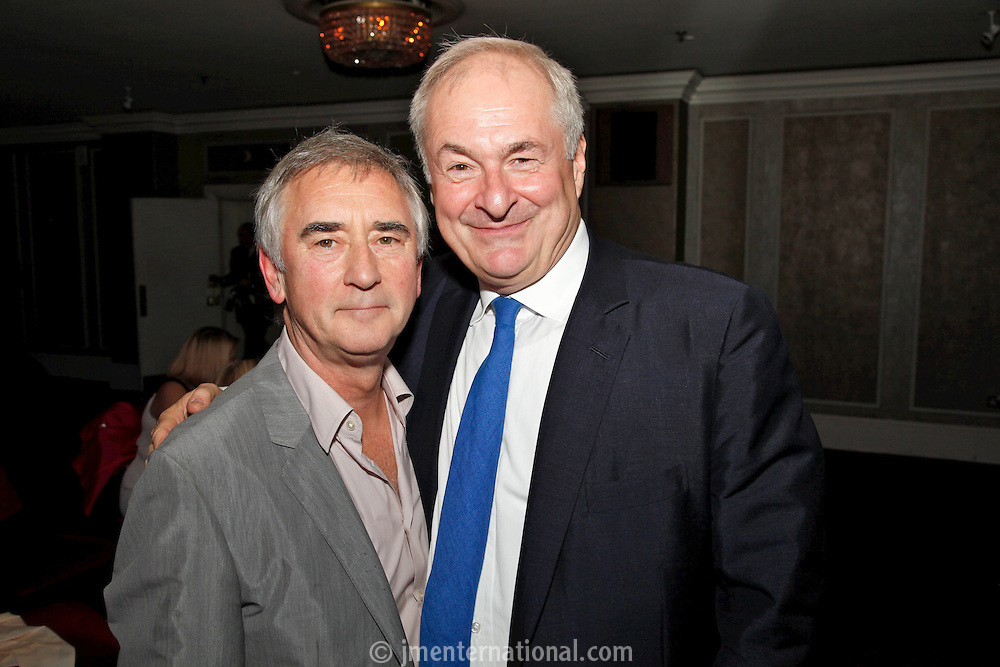 Nick Williams and Paul Gambaccini, the 2011 MITs Award. Held at the Grosvenor Hotel London in aid of Nordoff Robbins and the BRIT School. Monday, Nov.7, 2011