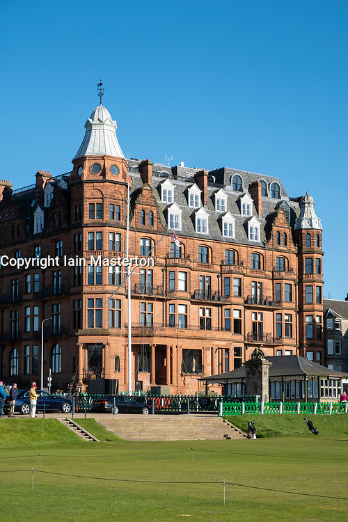 Hamilton Grand luxury apartment building beside Old Course in St Andrews, Fife, Scotland, UK.