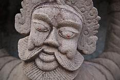 Statues, Wat Po, Bangkok, Thailand