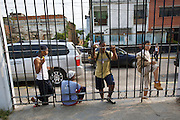 "Kids outside Jose? Marti? Bolivarian school. The school at the Barrio Sarria, one of Caracas' poor quarters, is home to the ""Nucleo Sarria of the ""Fundacion del Estado para el Sistema Nacional de las Orquestas Juveniles e Infantiles de Venezuela"" (FESNOJIV, National Network of Youth and Children Orchestras of Venezuela). This organization is also known as El Sistema, is a publicly financed private-sector music-education program in Venezuela, originally called Social Action for Music, founded 1975 by Venezuelan economist and amateur musician Jose? Antonio Abreu."
