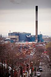 Eastcroft Incinerator, Sneinton, Nottingham, England, United Kingdom.