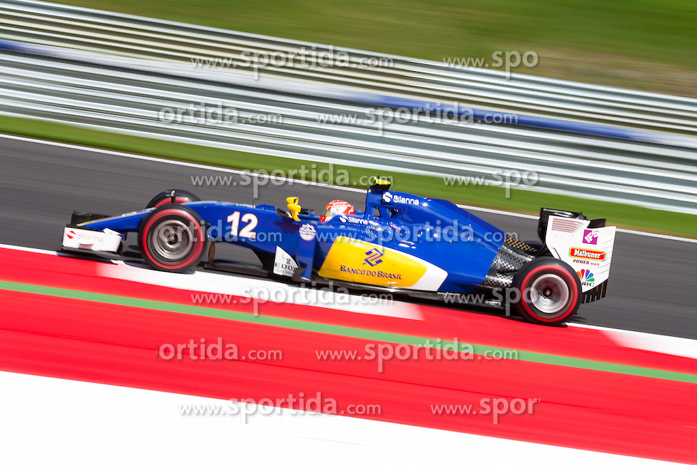 01.07.2016, Red Bull Ring, Spielberg, AUT, FIA, Formel 1, Grosser Preis von Österreich, Training, im Bild Felipe Nasr (BRA) Sauber F1 Team // Brazilian Formula One driver Felipe Nasr Sauber F1 Team during the Trainings for the Austrian Formula One Grand Prix at the Red Bull Ring in Spielberg, Austria on 2016/07/01. EXPA Pictures © 2016, PhotoCredit: EXPA/ Johann Groder