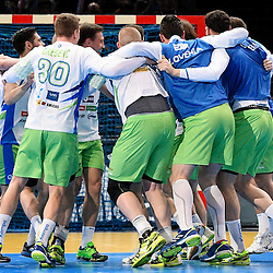20170124: FRA, Handball - IHF Men's World Championship, Slovenia vs Qatar