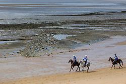 Simona Garatti, (ITA), Hanifa, Daniele Serioli, Santa Du Sauveterre - Endurance - Alltech FEI World Equestrian Games™ 2014 - Normandy, France.<br /> © Hippo Foto Team - Leanjo de Koster<br /> 25/06/14