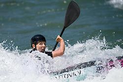 Veronika VOJTOVA of Czech Republic during the Canoe Single (WK1) Womens Final race of 2019 ICF Canoe Slalom World Cup 4, on June 28, 2019 in Tacen, Ljubljana, Slovenia. Photo by Sasa Pahic Szabo / Sportida
