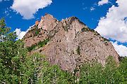 Ophir Needles on the San Juan Skyway (Highway 145), Uncompahgre National Forest, Colorado