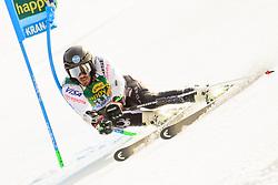 March 9, 2019 - Kranjska Gora, Kranjska Gora, Slovenia - Brian Mclaughlin of United States of America in action during Audi FIS Ski World Cup Vitranc on March 8, 2019 in Kranjska Gora, Slovenia. (Credit Image: © Rok Rakun/Pacific Press via ZUMA Wire)