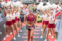 07.07.2019, Klagenfurt, AUT, Ironman Austria, Laufen, im Bild Bianca Steurer (AUT, 2. Platz) // second placed Bianca Steurer (AUT) during the run competition of the Ironman Austria in Klagenfurt, Austria on 2019/07/07. EXPA Pictures © 2019, PhotoCredit: EXPA/ Johann Groder
