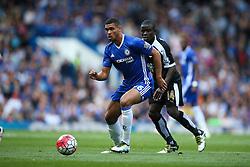 Ruben Loftus-Cheek of Chelsea under pressure from N'Golo Kante of Leicester City - Mandatory byline: Jason Brown/JMP - 15/05/2016 - FOOTBALL - London, Stamford Bridge - Chelsea v Leicester City - Barclays Premier League