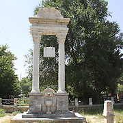 July 2016<br /> The Khost monument was also restored. It remembers those who fought loyally for King Amanullah during a rebellion against the King that lasted from March 1924 to January 1925. The rebellion erupted because the eastern Mangal tribes believed many of King Amanullah's reforms were anti-Islamic. The leader, Mullah-i-Lang, was captured and executed in Kabul, but the revolt had far wider consequences: it sharpened disagreements between the King, who wanted to reduce the size of the army, and his Commander in Chief, General Nadir Khan, who was banished to Paris for recommending strengthening the army, among many other things. After the King's downfall, Nadir Khan returned to rally the tribes and retake Kabul from Habibullah Ghazi (Bacha Saqqao) whereupon the tribes declared him Nadir Shah. <br /> Photo: Hashmatullah Ahmadi.