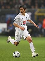 Photo: Maarten Straetemans/Sportsbeat Images.<br /> Anderlecht v Tottenham Hotspur. UEFA Cup. 06/12/2007.<br /> Lee Young-Pyo (Tottenham)