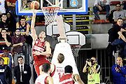 DESCRIZIONE : Roma Lega A 2014-15 Acea Virtus Roma Varese<br /> GIOCATORE : Christian EYENGA<br /> CATEGORIA : controcampo schiacciata<br /> SQUADRA : Acea Virtus Roma Varese<br /> EVENTO : Campionato Lega Serie A 2014-2015<br /> GARA : Acea Virtus Roma Varese<br /> DATA : 16.11.2014<br /> SPORT : Pallacanestro <br /> AUTORE : Agenzia Ciamillo-Castoria/M.Greco<br /> Galleria : Lega Basket A 2014-2015 <br /> Fotonotizia : Roma Lega A 2014-15 Acea Virtus Roma Varese