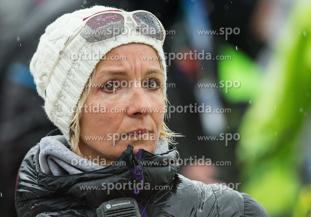 Nezka Poljansek during the 2nd Run of 7th Ladies' Slalom at 51st Golden Fox of Audi FIS Ski World Cup 2014/15, on February 22, 2015 in Pohorje, Maribor, Slovenia. Photo by Vid Ponikvar / Sportida