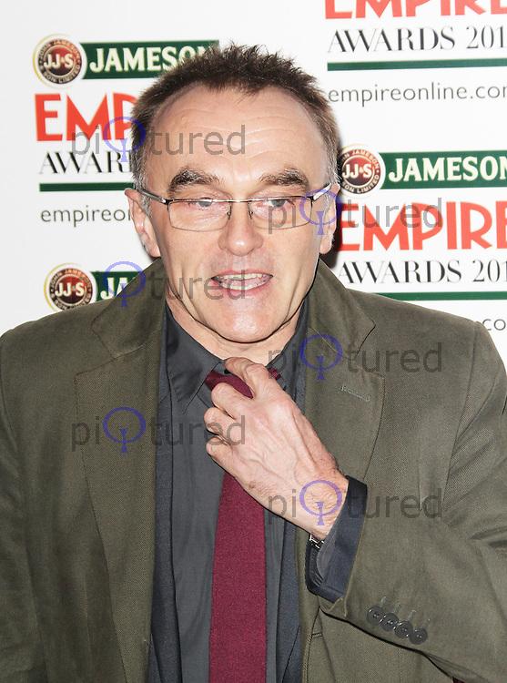 Danny Boyle, Jameson Empire Film Awards, Grosvenor House Hotel, London UK, 24 March 2013, (Photo by Richard Goldschmidt)