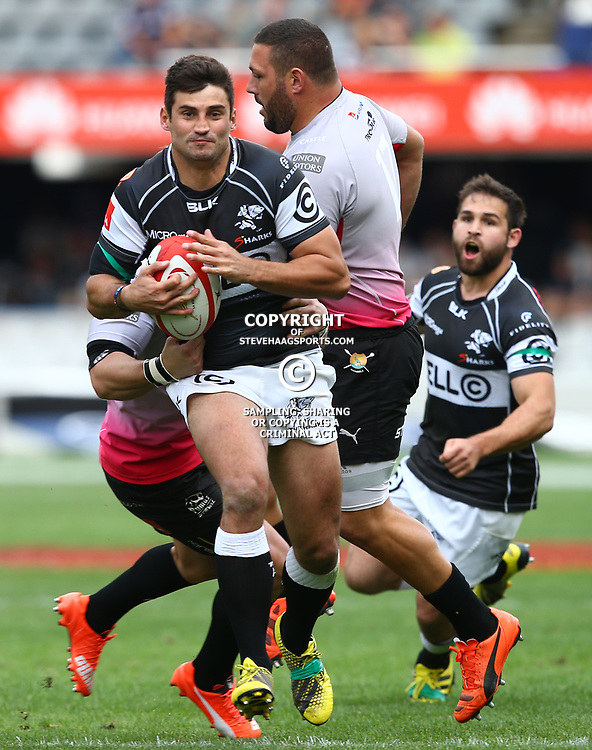 DURBAN, SOUTH AFRICA - SEPTEMBER 05: Lionel Cronje of the Cell C Sharks during the Absa Currie Cup match between Cell C Sharks and Steval Pumas at Growthpoint Kings Park on September 05, 2015 in Durban, South Africa. (Photo by Steve Haag/Gallo Images)