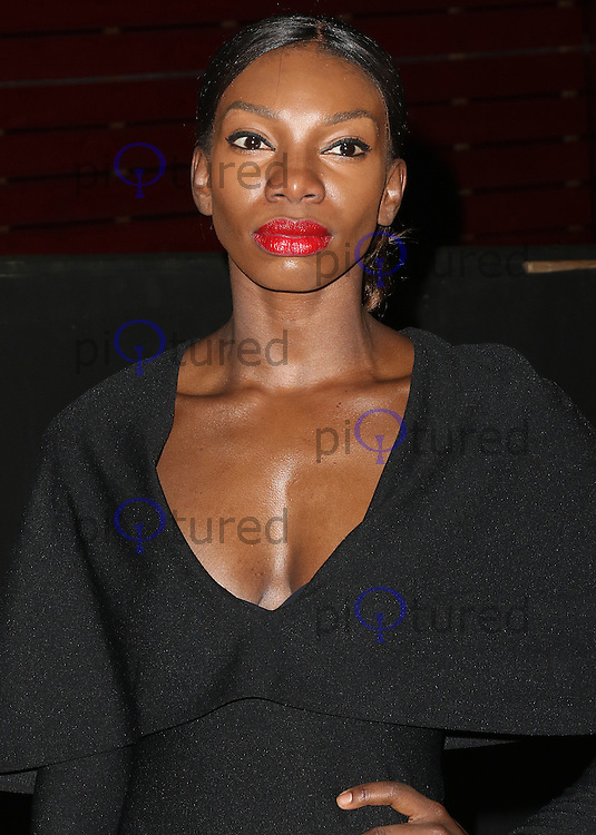 Michaela Coel, Bright Young Things Gala, National Theatre, London UK, 02 March 2016, Photo by Brett D. Cove