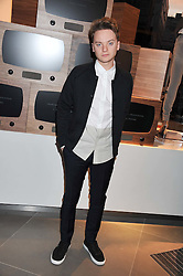 CONOR MAYNARD at an invitation-only acoustic performance by Rita Ora hosted by Calvin Klein Jeans at their Regent Street Store, London on 18th February 2013.