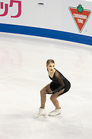 KELOWNA, BC - OCTOBER 26: Swiss figure skater Alexia Paganini competes during ladies long program of Skate Canada International held at Prospera Place on October 26, 2019 in Kelowna, Canada. (Photo by Marissa Baecker/Shoot the Breeze)