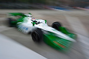 September 1-3, 2011. Simona Di Silvestro, Indycar Grand Prix of Baltimore around the inner harbor.