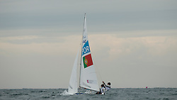2012 Olympic Games London / Weymouth<br /> 470 Training race<br /> Marinho Alvaro, Nunes Miguel, (POR, 470 Men)
