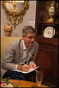 JONATHAN FOYLE  at the preview of LAPADA Art and Antiques Fair. Berkeley Sq. London. 23 September 2014.