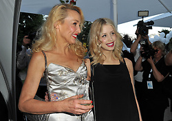 Jerry Hall and Peaches Geldof attends the Raffaello Summer Day 2013 at Kronprinzenpalais, Berlin, Germany. Friday June 21, 2013. Picture by Schneider-Press / John Farr / i-Images.<br /> UK & USA ONLY