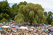 The audience at the 2011 Clearwater Festival.