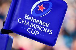 Heineken Champions Cup branding - Mandatory by-line: Ryan Hiscott/JMP - 13/01/2019 - RUGBY - Sandy Park Stadium - Exeter, England - Exeter Chiefs v Castres - Heineken Champions Cup