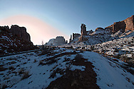 Park Avenue, Arches National Park, Utah, winter