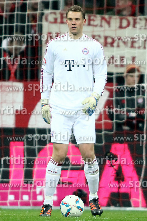 19.11.2011, Allianz Arena, Muenchen, GER, 1.FBL, FC Bayern Muenchen vs Borussia Dortmund, im Bild Manuel Neuer (Bayern #1) // during the match FC Bayern Muenchen vs  Borussia Dortmund, on 2011/11/19, Allianz Arena, Munich, Germany. EXPA Pictures © 2011, PhotoCredit: EXPA/ nph/ Straubmeier..***** ATTENTION - OUT OF GER, CRO *****
