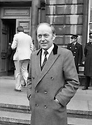 TDs arrive for the opening session of the 23rd Dáil...9-03-82.03-09-1982.9th March 1982..Pictured At Leinster House. .Limerick East TD Michael O'Kennedy